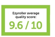 Ezyroller achives 9.6 out of 10 quality score.